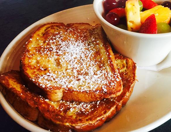french toast-fruit